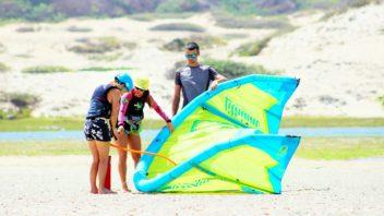 Présentation des cours de kitesurf